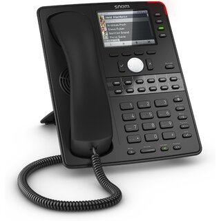Snom D765 SIP schwarz Tischtelefon